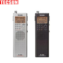 Original Tecsun PL 360 portable digital Radio usb AM FM pocket radio recorder Shortwave PLL DSP ETM SW MW LW Receiver pl-360 New