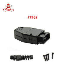 Factory Price! High Quality Universal 16Pin 16 pin EOBD2 OBDii OBD II OBD2 J1962 Connector Male Plug Adapter 1 Piece