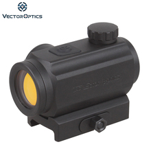 Vector Optics GEN II Torrent 1x20 Tactical Red Dot Scope Sight with Quick Release 21mm Weaver Mount fit for Night Vision Hunting(China)