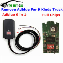 Full Chips Adblue Emulator 9 in 1 9in1 Update Of Emulator Adblue 8 in 1 For MB/MAN/Scania/Iveco/DAF/Ford/Volvo/Renault/Cummins