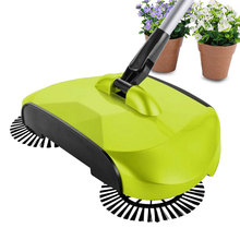 360 Degree Best Broom Combination Sweep Mop Clean Telescopic Floor Dust Sweeper(China)