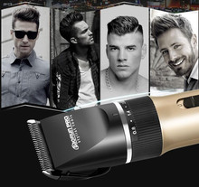 new man electric shaver mustache clipper hair clipper black ceramic shaving men precison body grooming trimmer beard trimming(China)