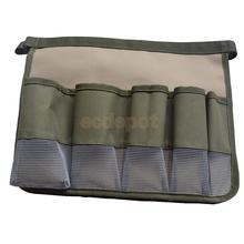 Garden Tool Pockets Tool Roll Canvas Spanner Wrench Tool Storage Bag Pouch
