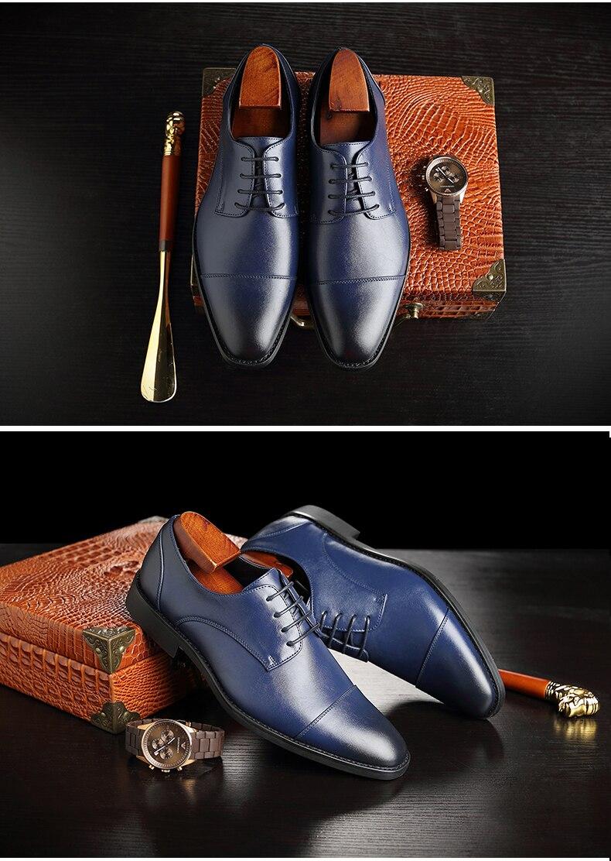 Mens Casual Shoes' Moccasin Men's Oxfords Shoes Men Winter Classic Party Wedding Men Casual Shoes Flats Formal Shoe Business New (6)