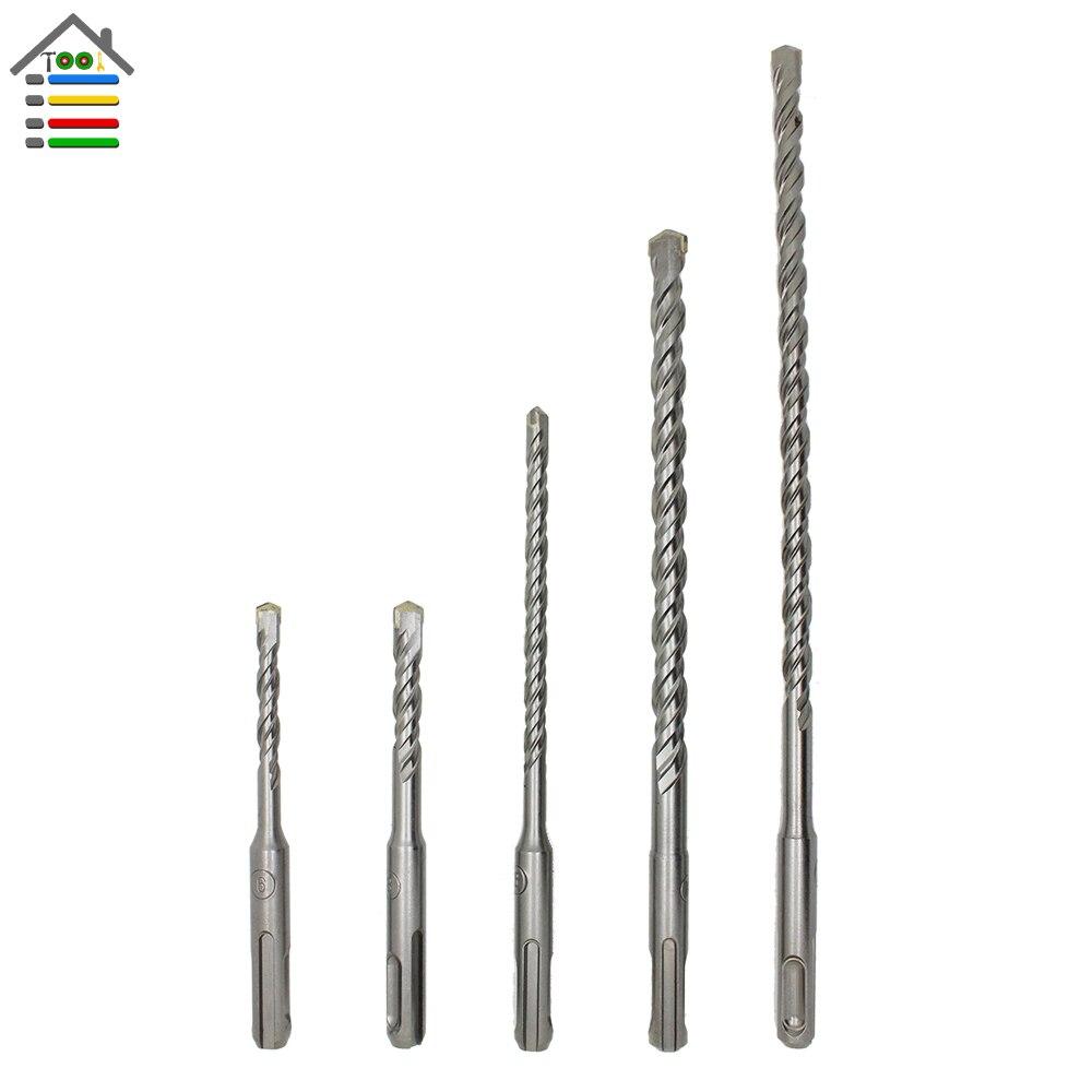 Drill Bits Bit Set Long Concrete Block Masonary Stone 3pc 450mm SDS SDS