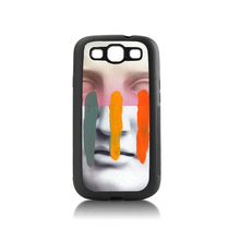Composition On Panel Cool Mask Personalized classic  print tpu soft black phone Accessories For case  s3 i9300