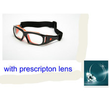 MINCL/ Detachable Basketball glasses with prescription lens football goggles price include myopia lens FML(China)