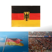 German Flag 90x150cm Germany Eagle Deutschland Soccer World Cup For Champion Banner(China)