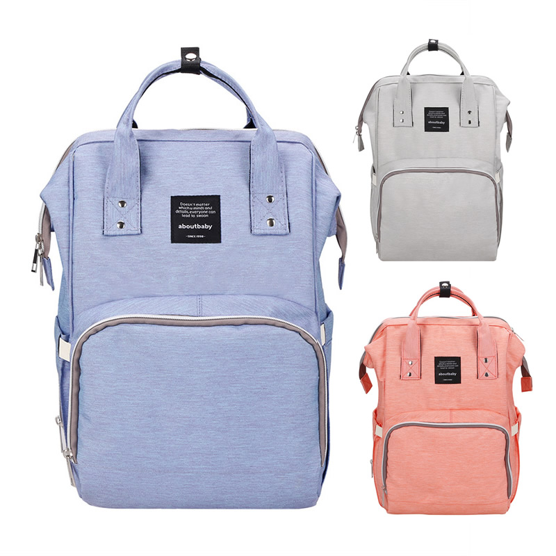 Baby Diaper Bags Mummy Packs Backpack Bolsa Infantil Maternal Stroller Multifunction Sac A Langer Maternite Nappy Changing Bag<br>