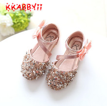 KKABBYII Girls Sandals Summer Shoes Sequins Girls Party Shoes Princess Dress Shoes Kids Gladiator Sandals