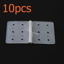 10pcs Nylon Pinned Hinge 20x36 Removable Pins RC Airplanes Parts Electric Model Aeromodelling Replacement