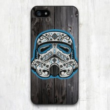 Tribal Stormstrooper On Wood cell phone case cover best material for iphone 4 4s 5 5s 5c SE 6 6s & 6 plus 6s plus 7 7 plus