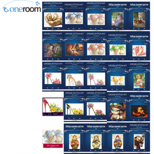 Buy 2TH New baby lovely 14CT Needlework DIY Cross Stitch Set Embroidery Kit Pattern Counted Cross-Stitching Wall Home Decro for $4.07 in AliExpress store