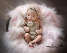 0-1M or 3-4M Newborn baby costume photography props knitting hat infant baby photo props new born baby girls outfits