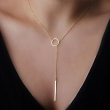 Samyeung Bulgaria Jewelry Gold Link Chain Statement Chocker Necklaces for Girl Friendship Necklace Neclace Women Neckless Femme(China)