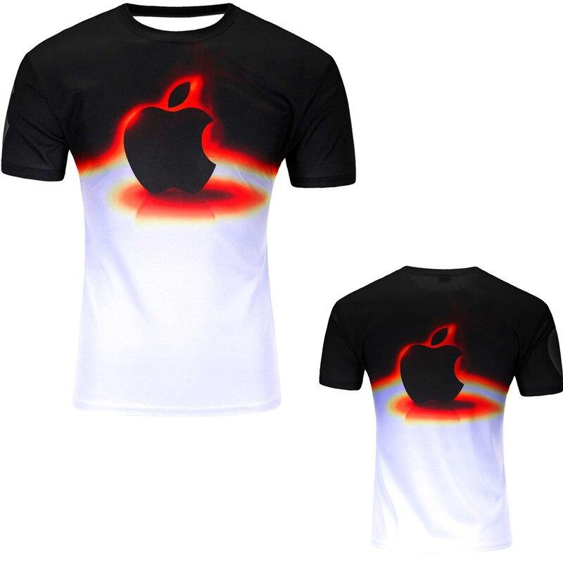 12 Color 3d print Lightning cat t shirt 13