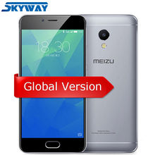"Original Meizu M5S  Global Version M612H 4G LTE 3GB RAM 16/32GB ROM Cell Phone 5.2"" Touchscreen Fingerprint ID Fast charge 13MP"