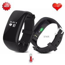 Температура тела/Heart Rate Monitor Smart Watch Здоровье Фитнес релох inteligente Синхронизации Жест Smartwatch Для Apple/Sony/Android