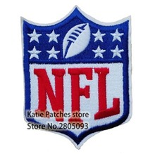 Football Badge Iron On Patch Stickers, Sport Rugby Embroidered Jacket Jean Patch, DIY Clothing Accessories Wholesale