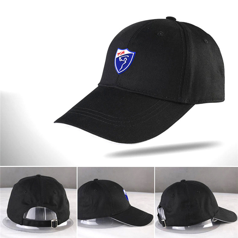 151e78cc51e Cotton Sunscreen Caps PGM Golf Hat Comfortable Breathable Hats Solid ...
