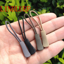 1500Pcs Zipper Pull Puller End Fit Rope Tag Fixer Zip Cord Tab Replacement Clip Broken Buckle Travel Bag Suitcase Clothes Tent(China)