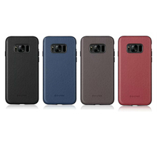 G-Case Cover For Samsung Galaxy S8/S8 Plus Ostrich Skin Leather Coated PC Hard Phone Bag Cases, Free Shipping&Tracking Number