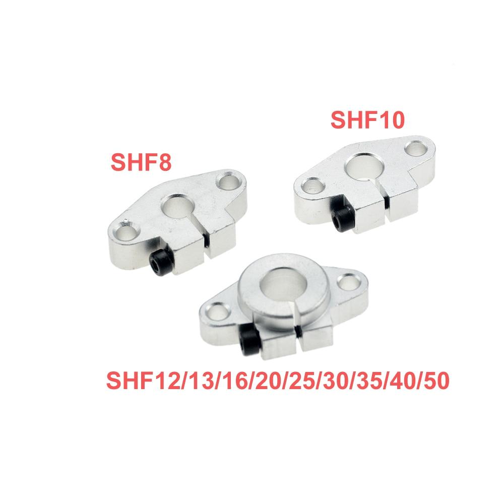 10pcs SHF10 10mm Linear Rail Shaft Support XYZ Table CNC SHF Series Rail Shaft