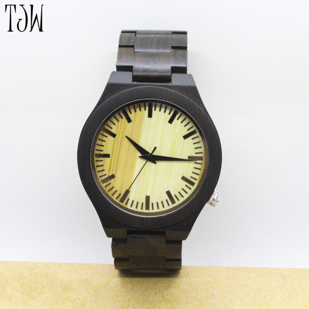 TJW 2017  NEW hot sell Ladies Fashion Casual Wrist Watch Women Wood Watches Relogio Feminino Clock<br>