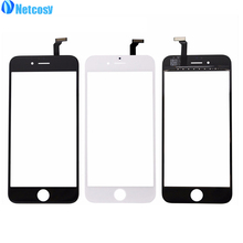 Netcosy Touch Panel For iPhone 6 5 5s 5c 4s 4 Touch Screen Digitizer Glass Lens Sensor Replacement Parts for Iphone TouchScreen(China)