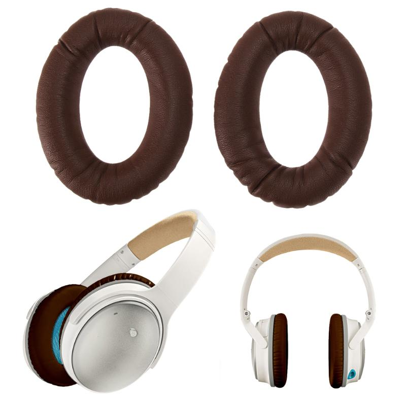 1 Pair Replacement Ear Pads Cushion brown Earpads For Bose QuietComfort QC15 QC2 AE2 AE2I Headphones