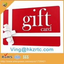 1000pcs/lots 85.5*54mm promotion retailer system CMYK printing PVC Voucher discount gift name card with round corner
