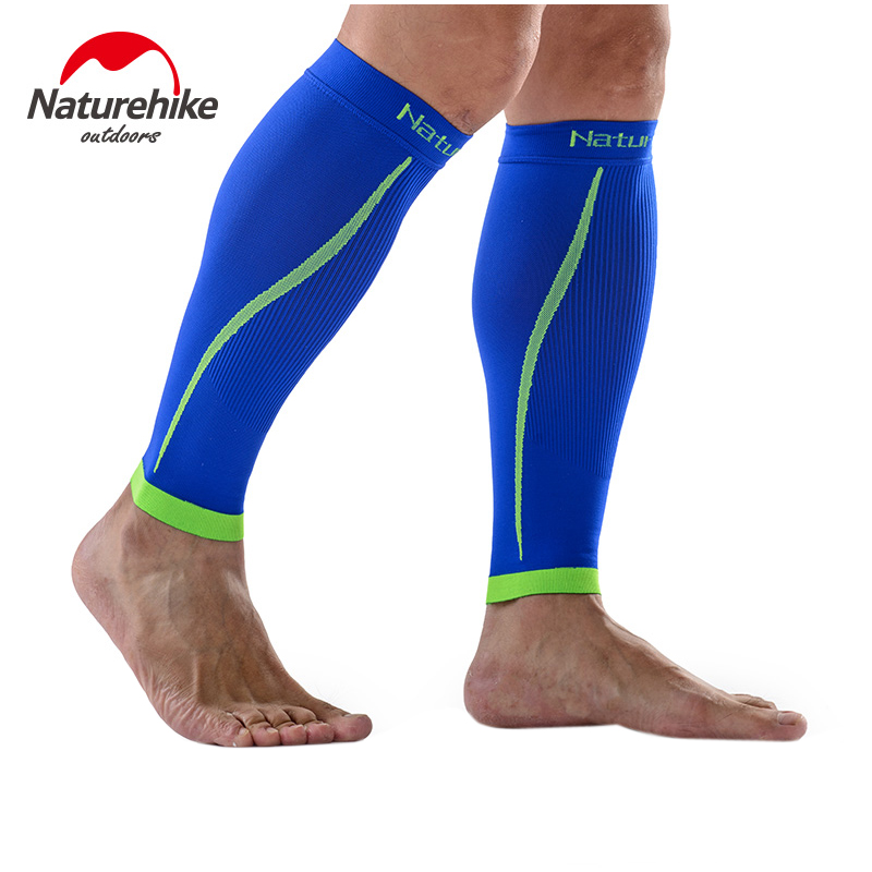 Naturehike 1 Pair Calf Compression Sleeve Outdoor Seamless Leggings Leg Sleeves Improved Leg Circulation Pain Relief NH17H003-M<br>