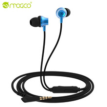 MOGCO In-Ear Universal Phone MP3 MP4 Earphones Heavy Bass Sound Earphone Wired Earpiece Game Headset audifonos For Xiaomi Sony