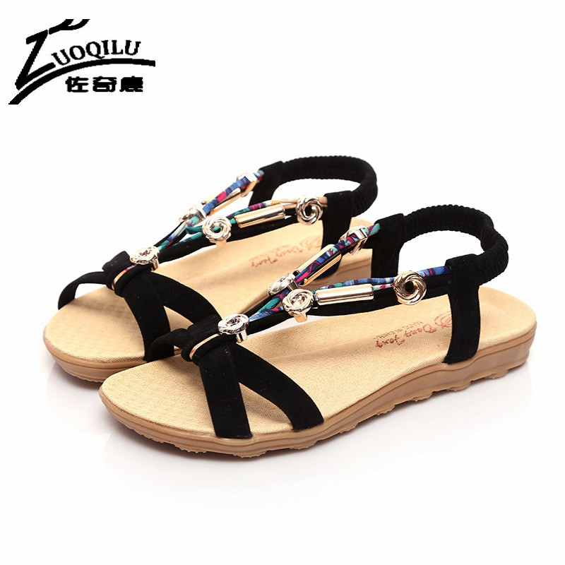 New Arrival 2017 Women Sandals Flips Flops 2017 Summer Shoes Woman Breathable Ladies Shoes Flats Fashion sandalias mujer<br><br>Aliexpress