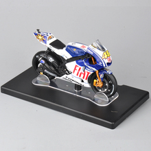 1/18 Scale Diecast Motorcycle VALENTINO ROSSI Yamaha YZR-M1 #46 World Champion 2009 Boys Collection Toy
