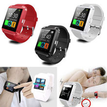 10pcs/lot Smart Watch Phone Mate U8 with Altimeter Bluetooth MTK6261 For Android Samsung HTC LG Sony with retail box DHL free