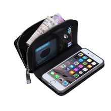 Coque Textile Pattern Split Wallet Holster Cases For iPhone 6 Etui Luxury Money Credit Cards Cell Phones 3 in 1 Fundas Case