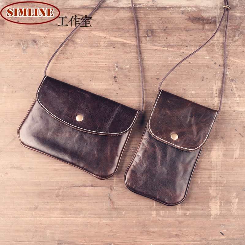 Brand Vintage Casual Handmade 100% Genuine Cow Leather Cowhide Women Small Mini Messenger Shoulder Crossbody Bag Bags For Ladies<br><br>Aliexpress