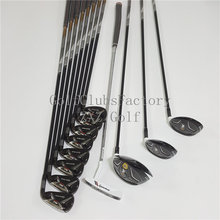golf club complete set Driver Fairways Irons Wedges Putter Woods+Irons golf clubs men ZXZ golf super M2 M1 G30 917D2 TMB718 716(China)