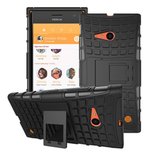 Case For Nokia Lumia 735 730 Hard Phone Case Heavy Duty Armor Shockproof Hybrid Rugged Rubber Cover for Microsoft Nokia 730 735
