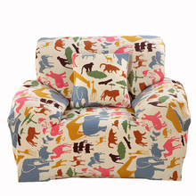 Animals Printing Couch Sofa Covers For Living Room Multi-size Home Decoration Universal Corner Sofa Slipcovers 100% Polyester