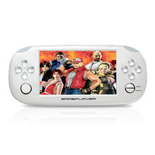 Free Shipping handheld Game Console 4.3 inch touch screen mp4 player MP5 game player real 8GB support for psp game,camera,video