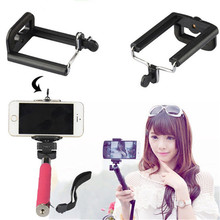 Hot sale Universal Mobile Phone Accessories Selfie Stick Phone Clip Adapter for Smartphone Camera Cell Phone Tripod Mount Holder