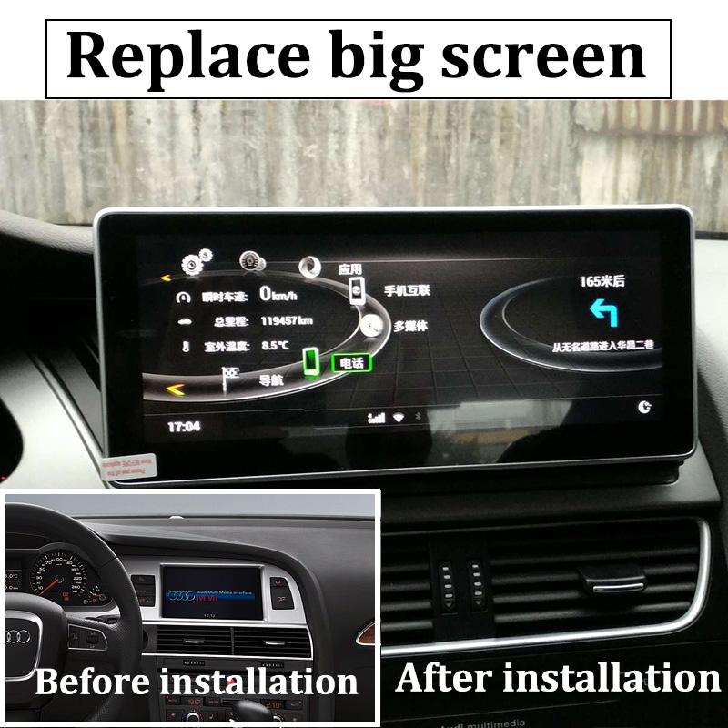 Liislee Car Multimedia Player NAVI 10.25 inch For Audi A6 C6 4F 2004~2011 Riginal Car MMI Style Radio Stereo GPS Navigation (9)