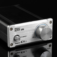 Super deal MUSE M20 EX2 TA2020 T-Amp Mini Stereo Amplifier 20WX2 Free Shipping - Silver