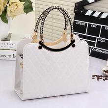 Hot 2016 New Korea And Japan Fashion Woman Messenger Design Diamond Lattice Woman Handbag Shoulder PU Tote Bag Clutch MB0060