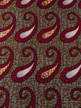 African Fabrics Suppliers Real Wax Red Orange White Jewellery Decorations Designs For Wedding Dress 6 Yards rw81671611(China)