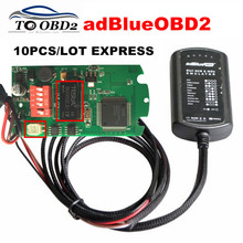 10pcs/Lot Express Ad-Blue SCR&NOX System Box Works For Cummins/Ford Professional Adblue Emulator 9 IN 1 Heavy Duty Truck Tool(China)