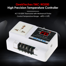 Buy TMC-W3500 AC110-250V LCD Thermoregulator Digital Temperature Controller Thermocouple Thermostat + Socket Waterproof Sensor Probe for $16.93 in AliExpress store