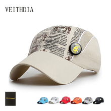 VEITHDIA spring and summer surfing children net hat boy girl quick dry hat sports baseball cap 003